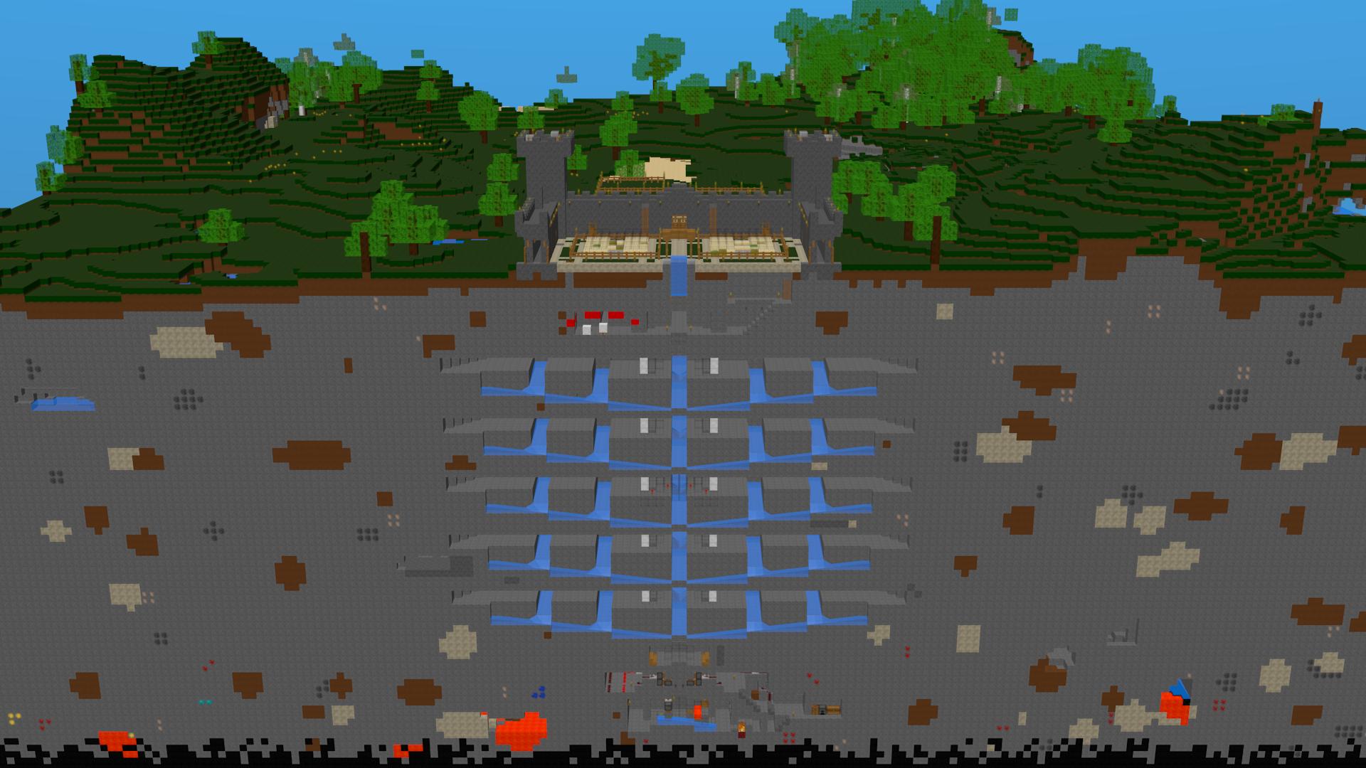 My Three Greatest Minecraft Builds Green Lightning