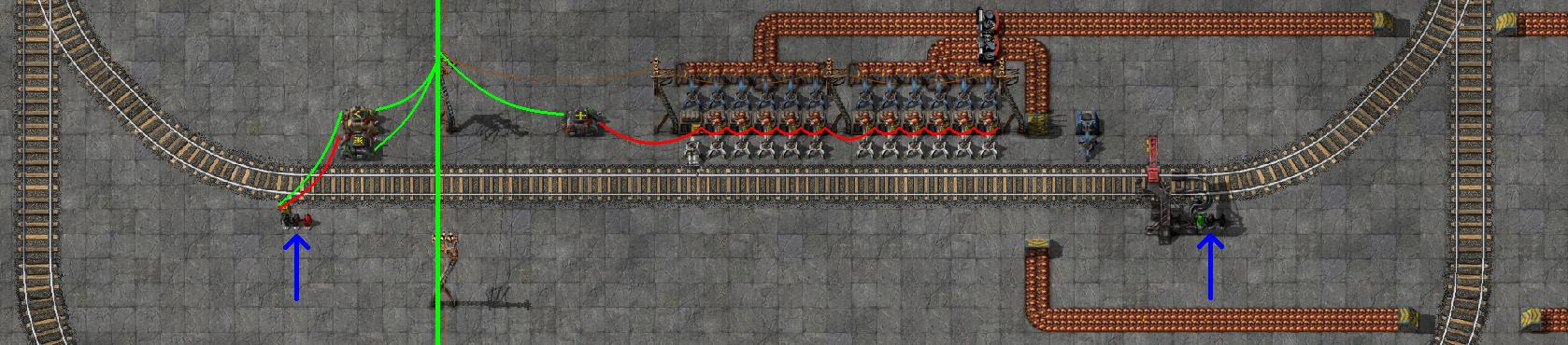 Factorio: Train Balancer | Green Lightning